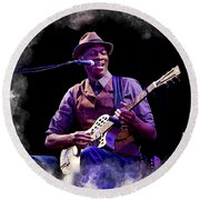Keb' Mo' Round Beach Towel