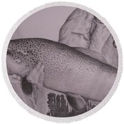 Keeper Round Beach Towel