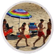 Keepin Up Round Beach Towel