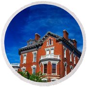 Kehoe House Savannah Georgia  Round Beach Towel