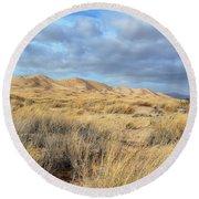 Kelso Dunes Wilderness Round Beach Towel