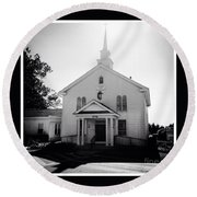 Kemptown Methodist Church Round Beach Towel