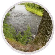 Kettle River 3 Round Beach Towel