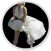 Key West Marilyn - Special Edition Round Beach Towel