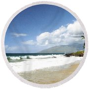 Kihei Round Beach Towel