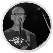 Kim Mitchell Round Beach Towel
