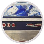 Kinda Impala Round Beach Towel