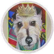 King Louie Round Beach Towel