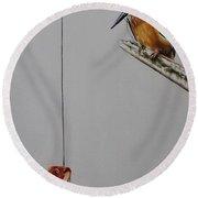Kingfisher Round Beach Towel