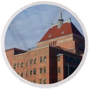 Kings County Hospital Center, Brooklyn Round Beach Towel