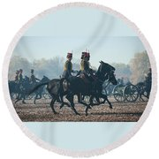 Kings Troop Rha Round Beach Towel