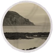Kintyre Plus Eight Round Beach Towel