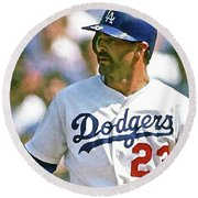Kirk Gibson, Los Angeles Dodgers Round Beach Towel