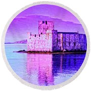 Kisimul Castle Round Beach Towel