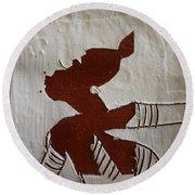 Kiss - Tile Round Beach Towel