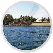 Kitchener Island Aswan Round Beach Towel