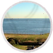 Kittery Point 2 Round Beach Towel