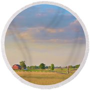 Klingel Farm Round Beach Towel
