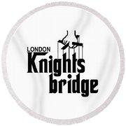Knightsbridge Round Beach Towel
