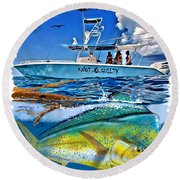 Knot Guilty Round Beach Towel