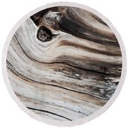 Knotted Round Beach Towel