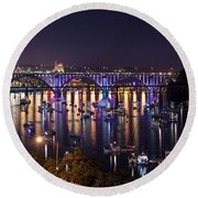 Knoxville Round Beach Towel