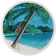 Ko Phuket Round Beach Towel