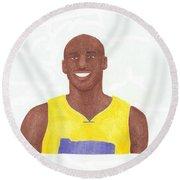 Kobe Bryant Round Beach Towel