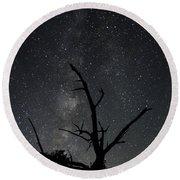 Kodachrome Basin Night Sky 2957 Round Beach Towel