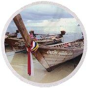 Koh Phi Phi Round Beach Towel