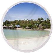 Koh Talu Beach Round Beach Towel