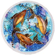 Koiful Round Beach Towel