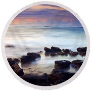 Koloa Sunrise Round Beach Towel