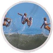 Kolohe Andino Compilation Round Beach Towel