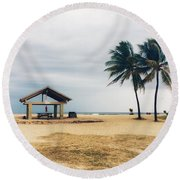 Kona Beach Round Beach Towel