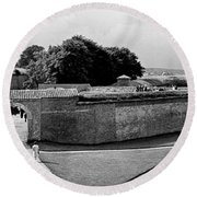 Kronborg Castle 3 Round Beach Towel