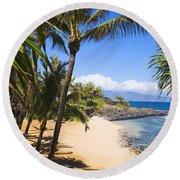 Kuau Cove Round Beach Towel