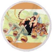 Kuroko's Basketball Round Beach Towel