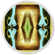 KV5 Round Beach Towel by Writermore Arts