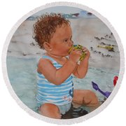 Kyla Round Beach Towel