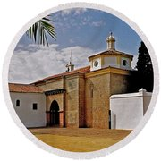 La Rabida Monastery - Huelva Round Beach Towel