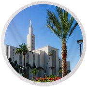 La Temple Children Round Beach Towel