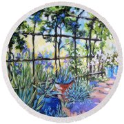 La Tonnelle The Arbor Round Beach Towel