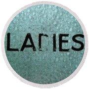 Ladies Round Beach Towel