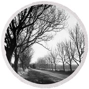 Lady Anne's Drive, Holkham Round Beach Towel