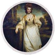 Lady Elizabeth Compton Round Beach Towel