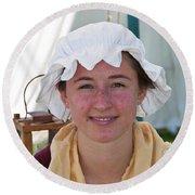 Lady IIi  6683 Round Beach Towel