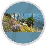 Laguna Beach, Southern California 12 Round Beach Towel