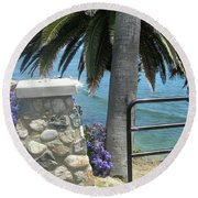 Laguna Beach, Southern California 9 Round Beach Towel