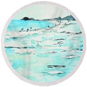 Lajolla Round Beach Towel